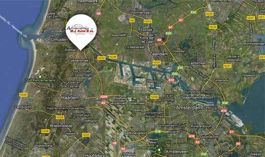 map sloperij amsterdam