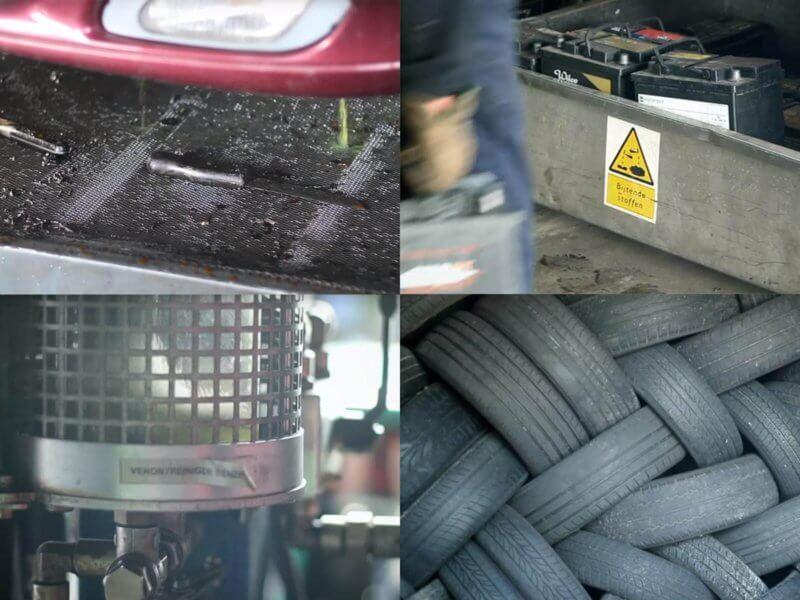 Sloopauto verkopen. Alles auto's worden op een milieu verantwoorde manier gerecycled.
